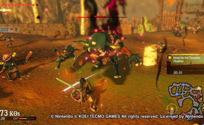 Game Hyrule Warriors