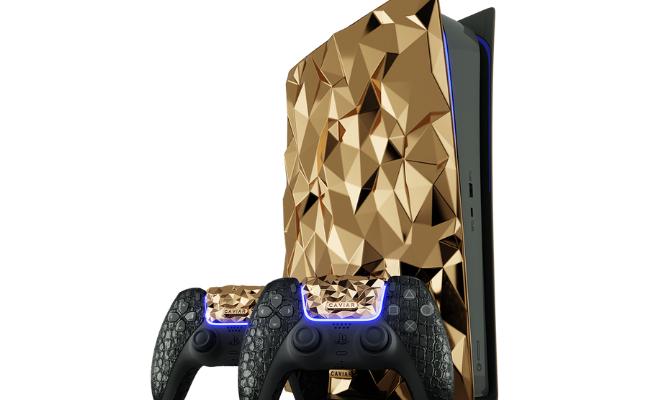 PlayStation 5 Lapis Emas